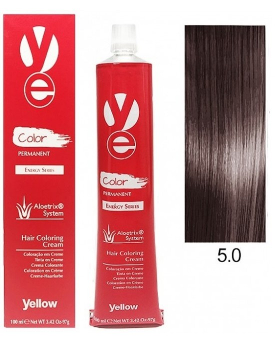 Vopsea Yellow - Light Natural Brown 5.0